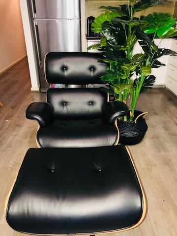 Comfy chair & foot stool new updated sept 2018