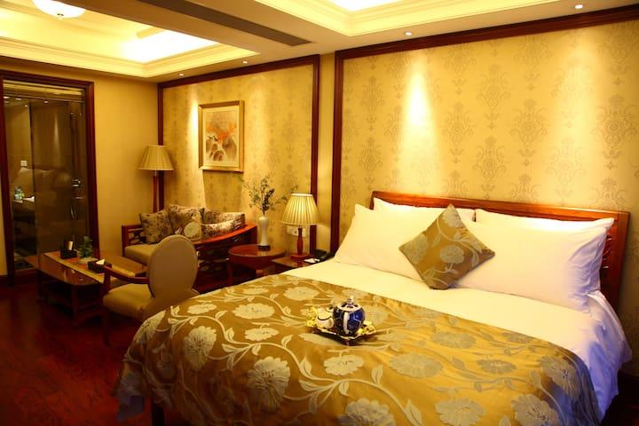 Luxury Apt w/ Amazing Balcony Views - Hangzhou Shi - Appartement