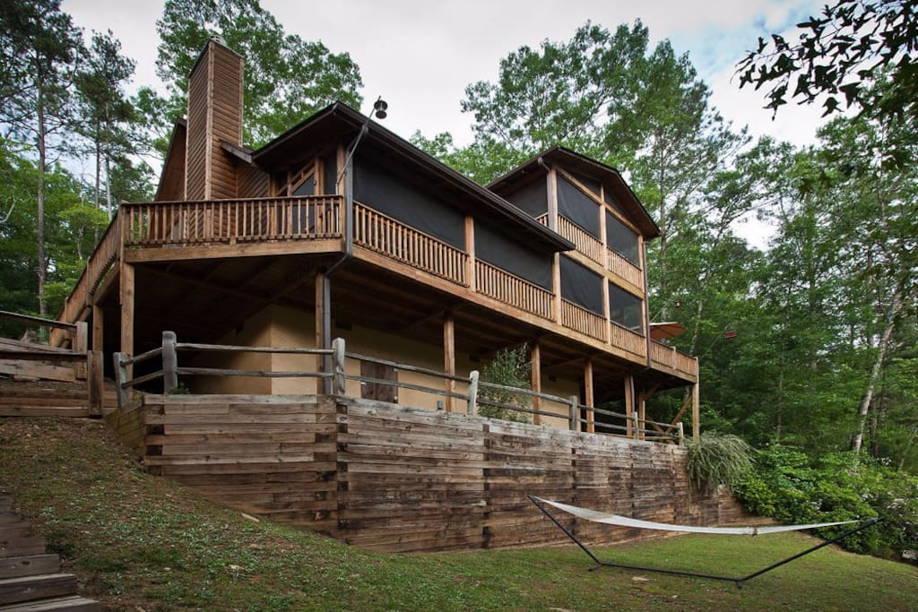 Kickback creek cabins for rent in ellijay georgia for Ellijay cabins for rent by owner