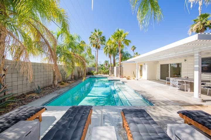 Private Mid-Century Oasis