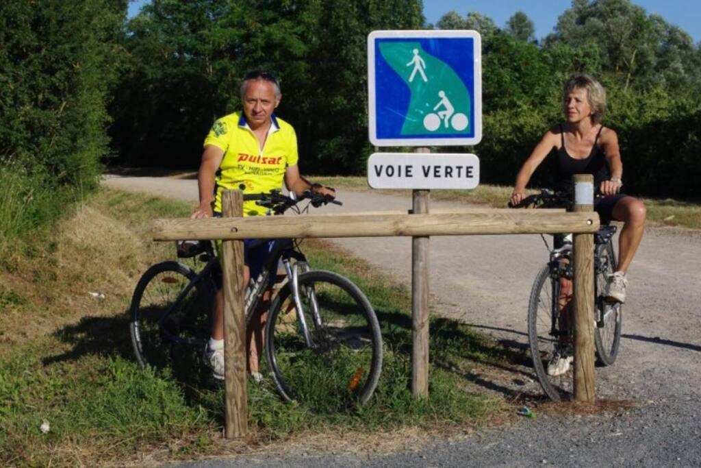 Le sentier de randonnée (Jean Marc et Marie-Jo)