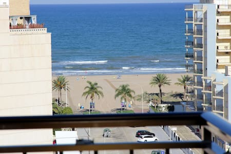 Room 2 people, Gandia Beach 2 single size bed WiFi - Grau i Platja - Wohnung