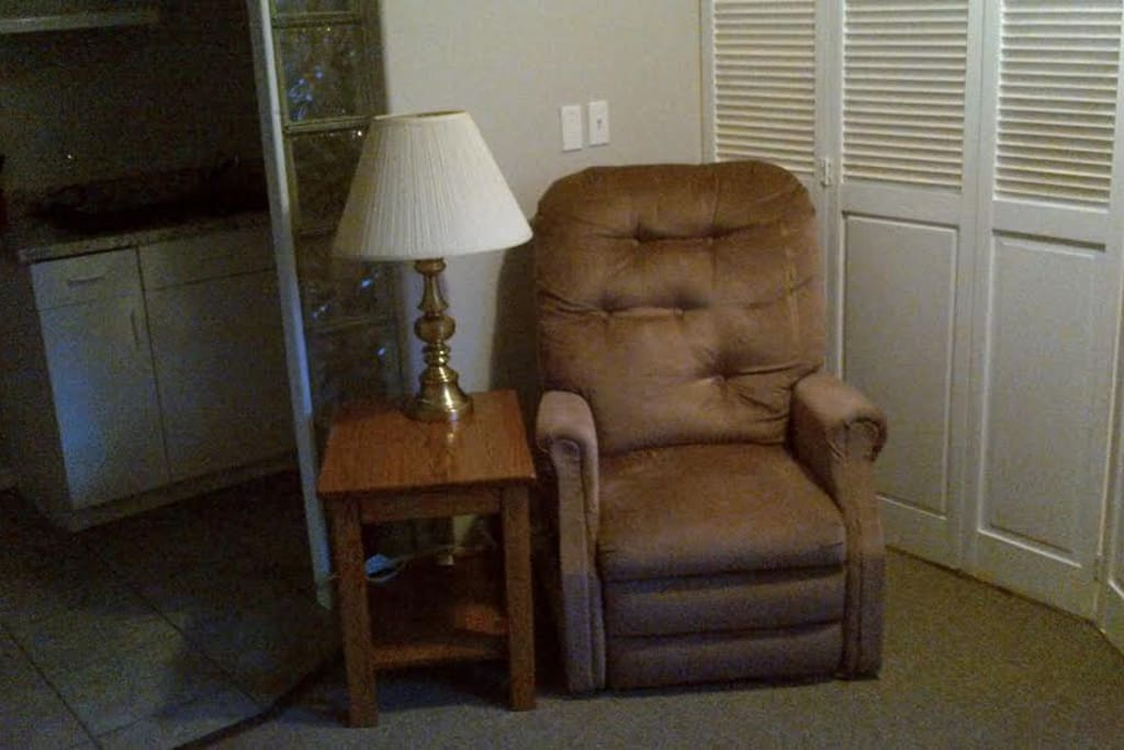 Living area chair