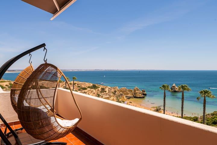 Dona Ana Beach House with Sea view Terrace