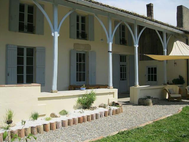 Charmante Maison et piscine - Sainte-Colombe-de-Duras - Dům