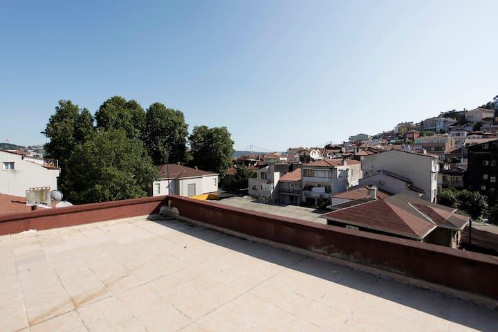 sunny 2 bedroom close to Bosphorus