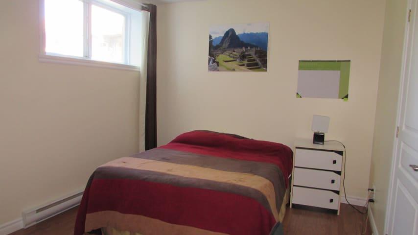 Chambre à louer près de l'Université de Sherbrooke