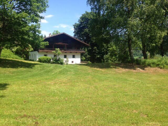 Bauernhaus mit Donautal Ausblick - Bernried