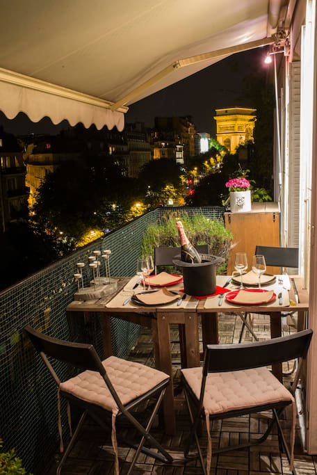Aperitif/Diner on the terrace
