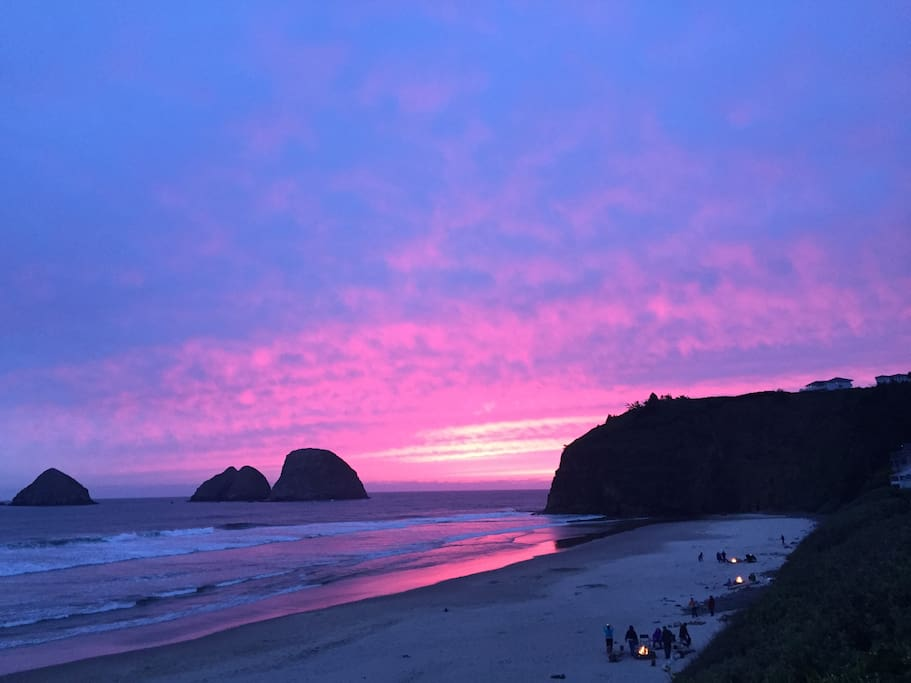 Oceanside Oregon The Perch Cabin Houses For Rent In