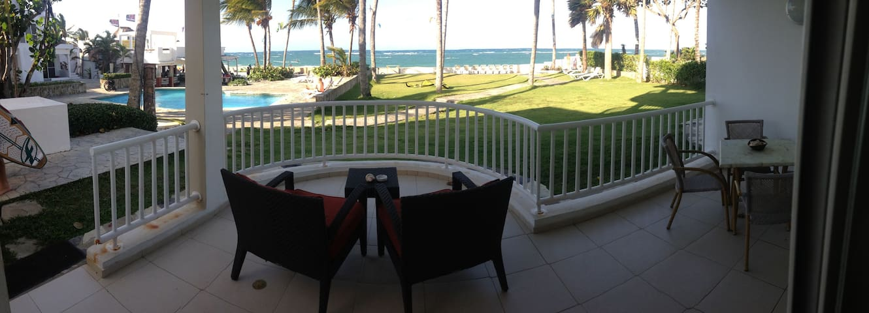 Kite Beach Ocean front. 2 bdrm/2 bath Big terrace! - Cabarete - Lägenhet