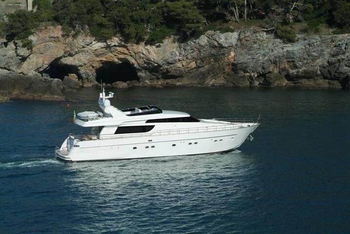 Yacht San Lorenzo SL 72 Fly - Porto Cervo - Barco