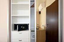Hotel safe for valuables
