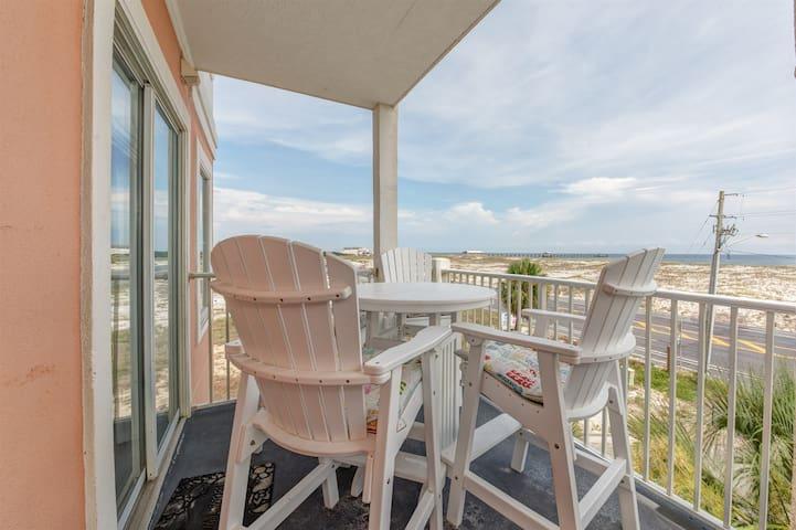 Grand Beach Resort 318 on the corner of Gulf Shores