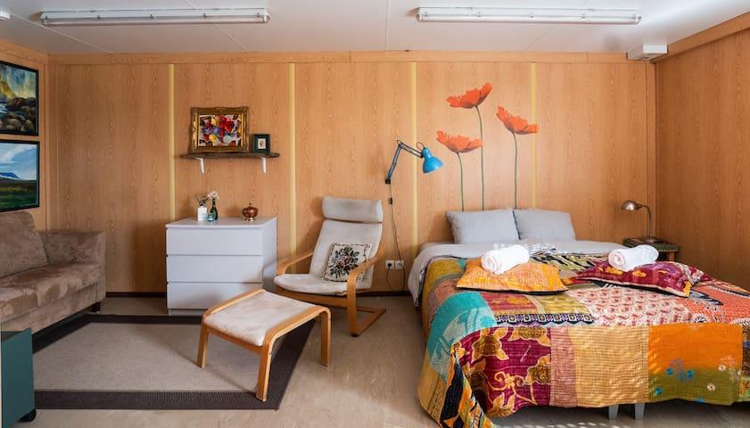 Double studio on Langanes peninsula