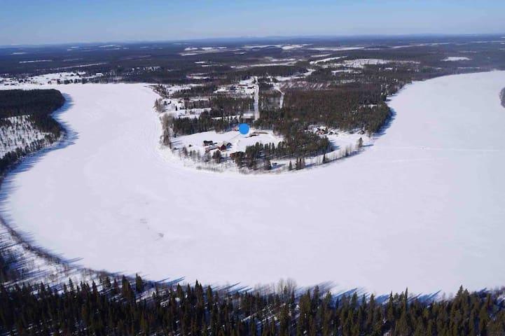 Cabin Lovikka by Torneriver, i Tornedalen, Lapland