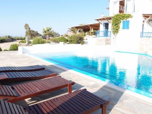 Holiday House With Pool - Μύκονος - Casa