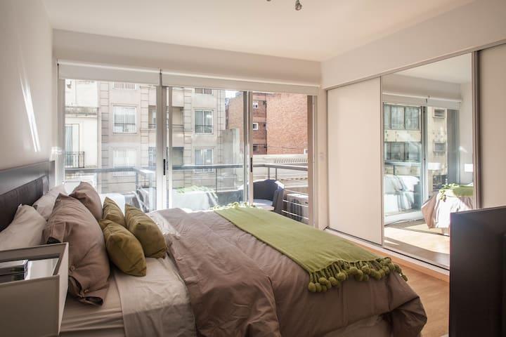 APARTMENT CENTER OF LA RECOLETA. 4b - Buenos Aires - Apartamento