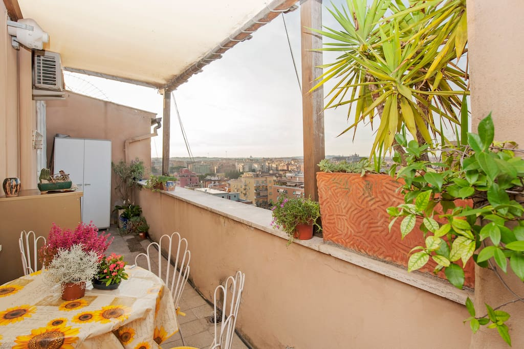ROME SWEET HOME balcony city flat