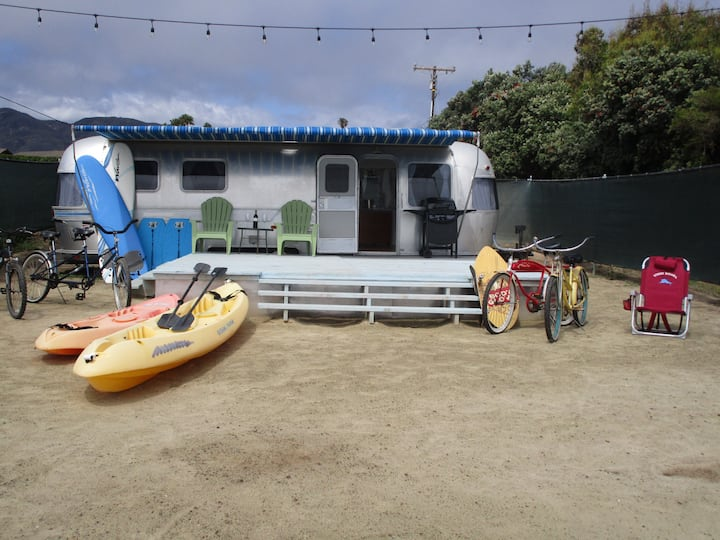 Zuma Beach Malibu Air Stream Dream