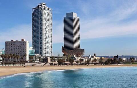 Beach Olympic Village und Ciutadella Park