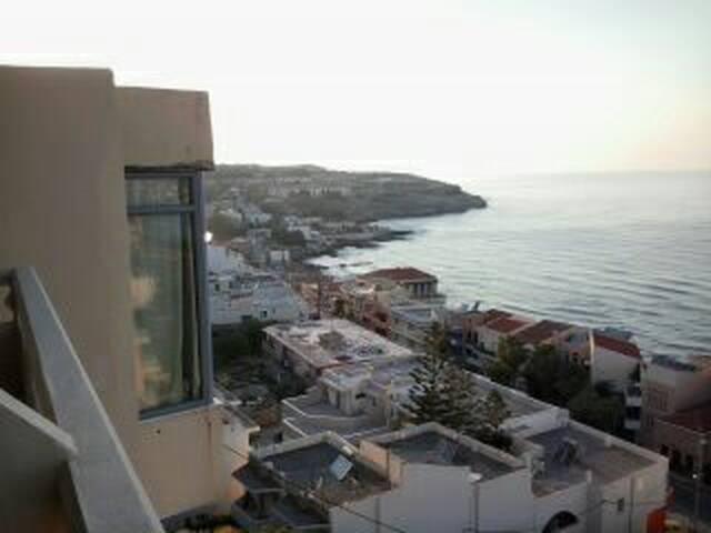 ΔΩΜΑΤΙΟ ΜΕ ΘΕΑ ΣΤΗ ΘΑΛΑΣΣΑ! - Rethymno - Flat