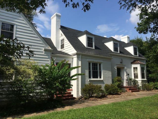 Historic Home Near Downtown Raleigh - Raleigh - Casa