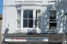 Kamson's, the local pharmacy. Good service, friendly staff.