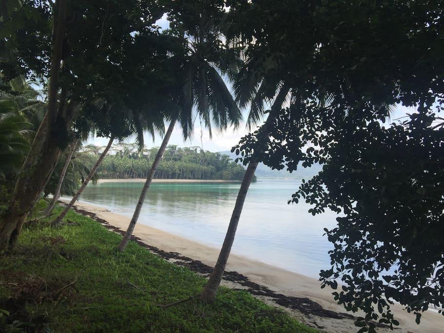 The beach close to jungle bar