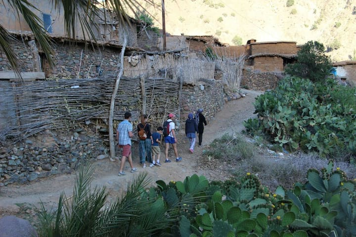 Feel Like Family in a Traditional Berber Home