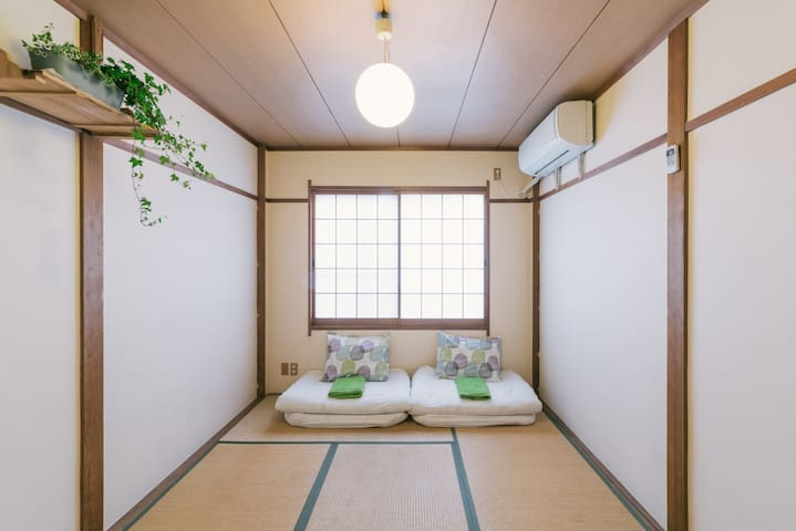 CENTRAL***Cozy Town House 2floors - 福岡市中央区