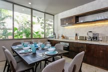 Open Dining Area:  Dining for Your Whole Family