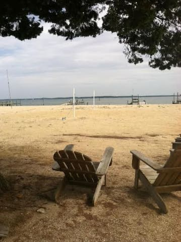 Chesapeake Bay Vistas, waterfront - Deltaville - House