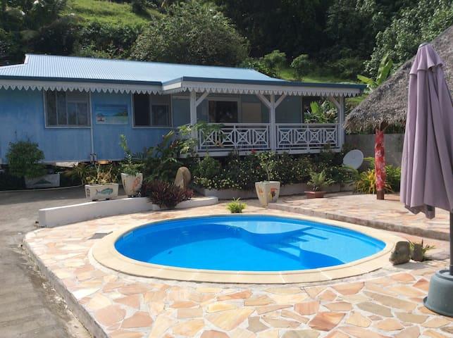 Chez Daniel et Loana chambre privée - Bora Bora - Casa de hóspedes