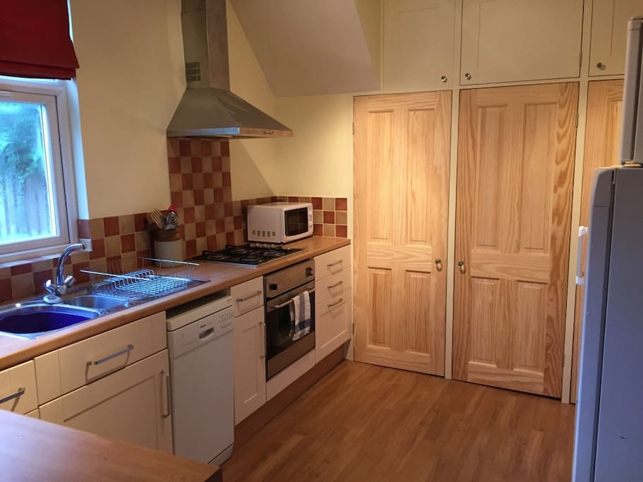 Kitchen with ammenities