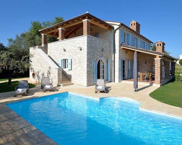 Villa Miramar, seaview, pool (6-8) - Vabriga - วิลล่า