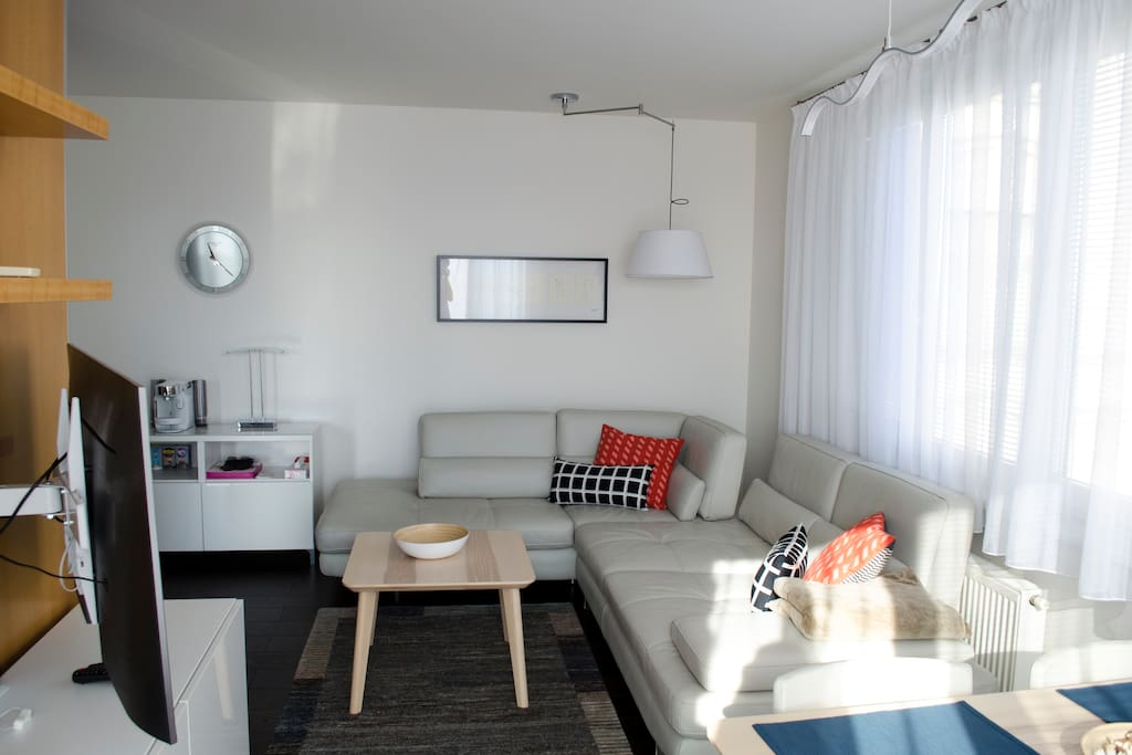 Cozy and roomy sofa