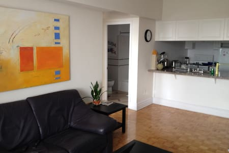 Large One Bedroom Apartment with Balcony and Views - Westmount - Lägenhet