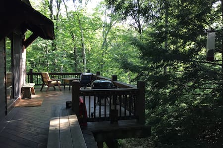 Secluded cabin on 45 private acres! - Otis - Cabin - 2