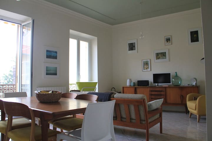 3 room flat, 150m from the sea  - Menton - Apartment