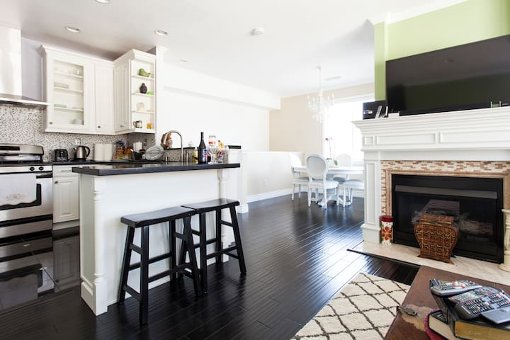 FULLY Furnished-Clean Modern THouse - Milpitas - Townhouse