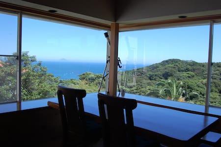 Great Ocean View. Big Garden. Beach - Shimoda-shi