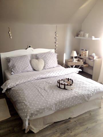 Chambre d'hôtesau bonheur de Romain - Mons - Casa