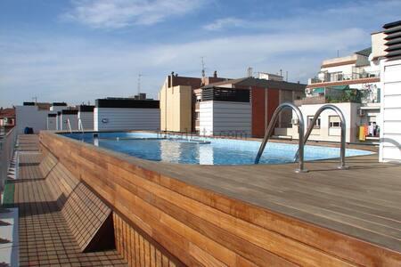 Chambre privée + piscine et sauna - Barcelona - Apartment