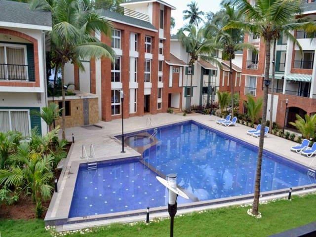 Luxury Apartments North Goa C-402