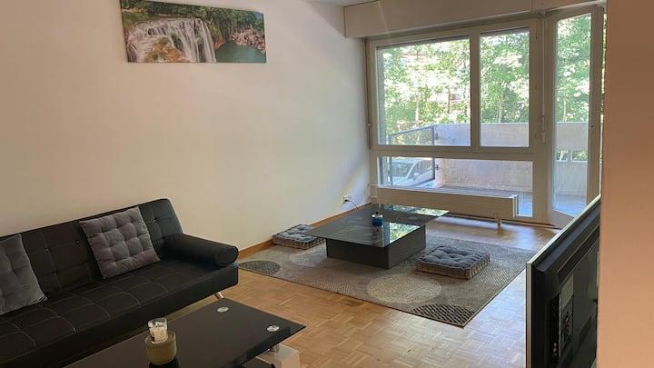 Entier appartement 2.5 REZ au centre de Lausanne