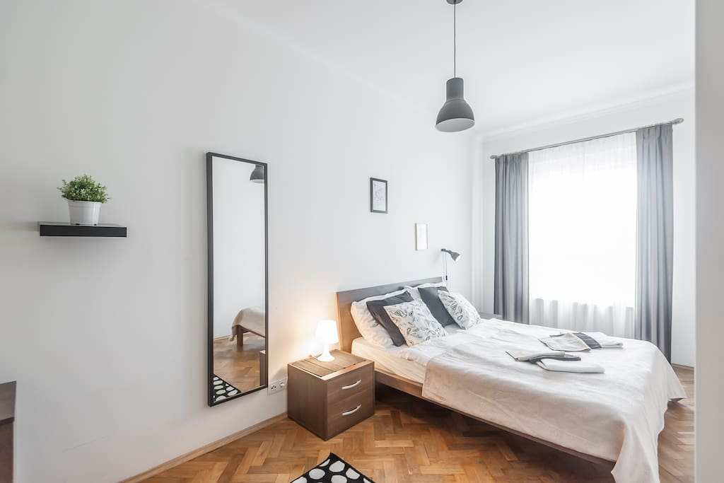 prague apartment-pragueforyou-bedroom2
