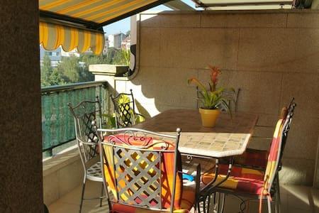 Atico con dos terrazas y vistas, céntrico - Vilagarcía de Arousa