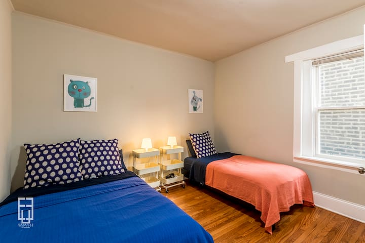 (71W-S) A Smart Private Bedroom in Douglass Flat