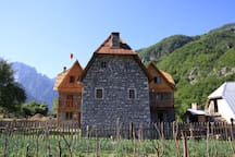 Shpella Guesthouse Theth #mountain #theth #albania #farm #river #Traditional
